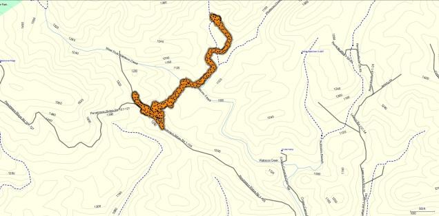 Ashmore Preserve Map