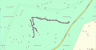 Craggy Pinnacle Map