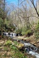 Pearson's Falls from the bridge