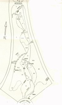 Corneille Bryan Native Garden Map