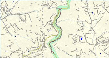 Craven Gap Trail (South) Map