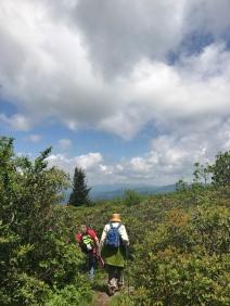 Walking on Top of the Ridge