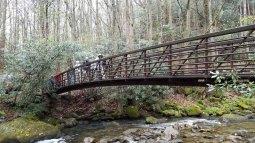 Bridge Over The Middle Saluda River