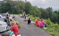 Lunch Spot at Mills River Overlook