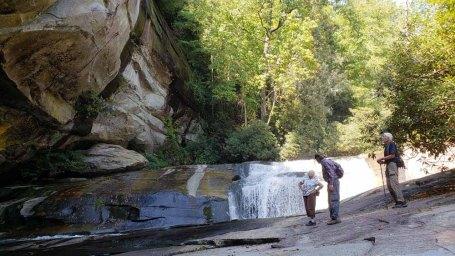 At Bird Rock (aka Cathedral) Falls
