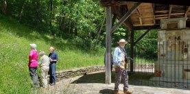 At the Masonic Monument, Black Camp Gap
