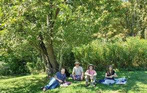 Lunch Under An Apple Tree