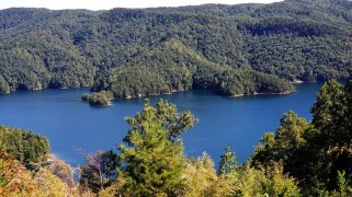 View of Lake Jocassee from the Overlook
