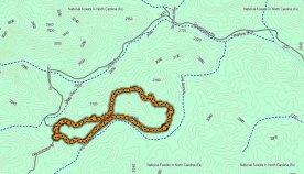 McCall Cemetery Loop Map