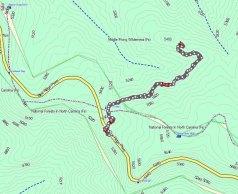Mt Hardy Trail Map