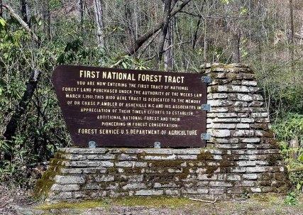 Curtis Creek Sign