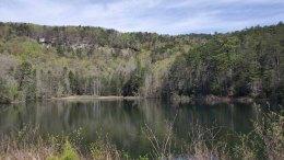 Lake Wattacoo & Ashmore Falls on Wattacoo Creek