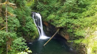 Butte Creek Falls, Scotts Mills