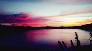 Sunrise at Crater Lake, Crater Lake National Park