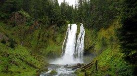 Lemolo Falls, Lemolo Lake