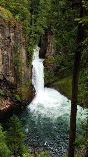 Toketee Falls, Toketee Lake,