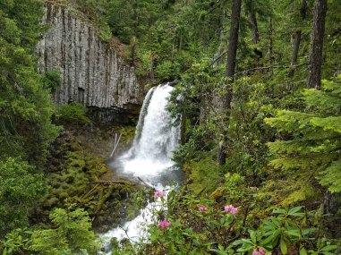 Warm Springs Falls, Lemolo Lake