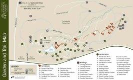 South Carolina Botanical Garden Map