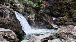 Bingham Falls, Smugglers Notch State Park,, VT