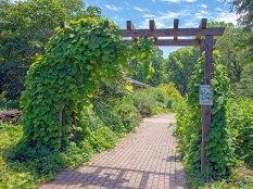 Gateway to Butterfly Garden