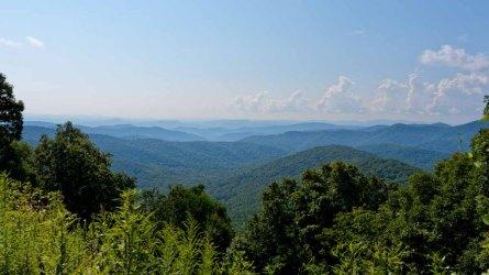 View from Big Ridge Overlook